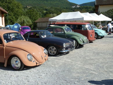 "Collection of cars ""coccinelles"""